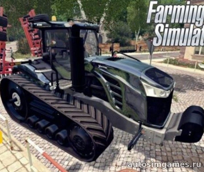 Мод трактор CAT Challenger MT875E 2016X для Farming Simulator 2015