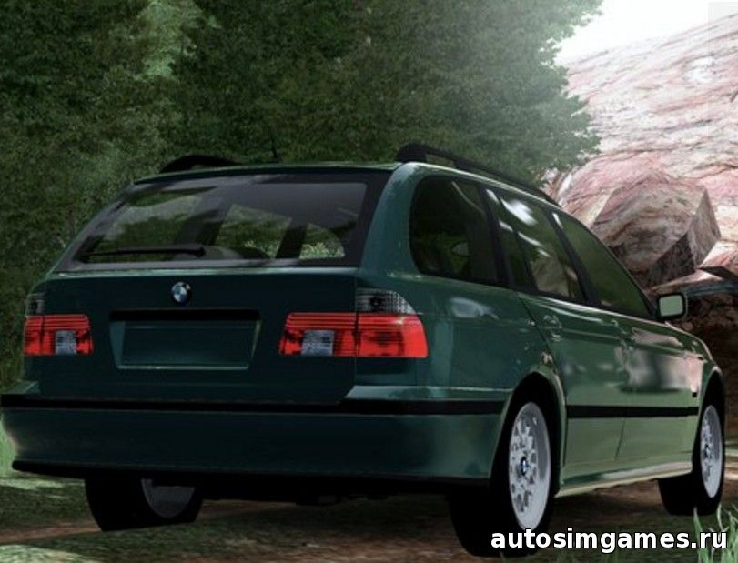 Мод машина BMW 520i E39 Touring для City Car Driving 1.5.1