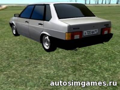 Ваз 21099 для City Car Driving 1.5.1