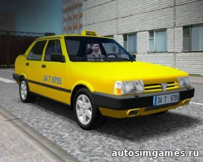 Tofas Sahin для City Car Driving 1.5.1