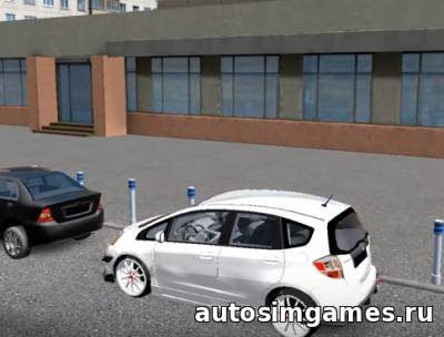 Honda Fit для City Car Driving 1.5.1