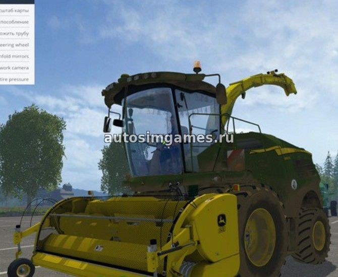 John Deere 8600I для Farming Simulator 2015
