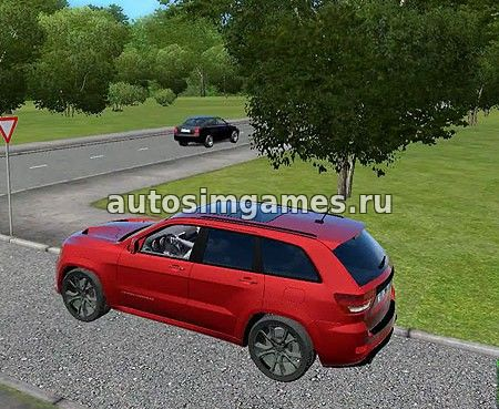 Машина Jeep Grand Cherokee для City Car Driving 1.5.1 скачать мод