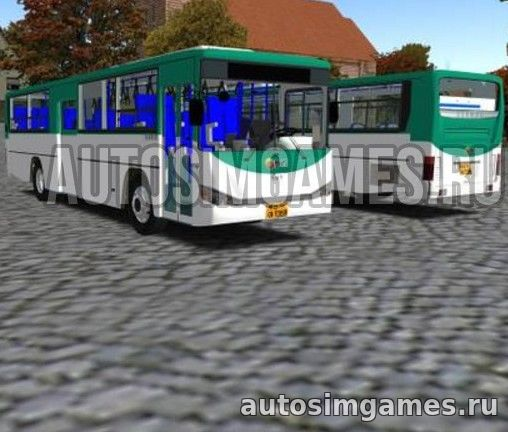 Daewoo BS106 Korea Bus Pack для Omsi 2