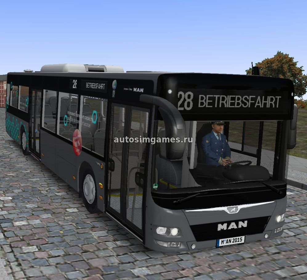 MAN Lion's City A21 v1.3, bus mod, omsi 2, автобус, омси 2