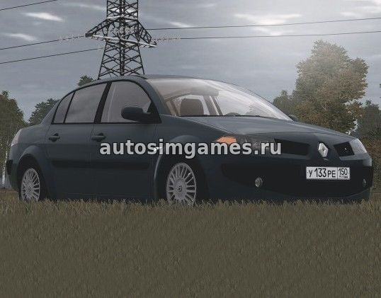 Машина Renault Megane 2.0i для City Car Driving 1.5.1 скачать мод