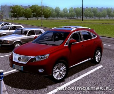 Lexus RX450h для City Car Driving 1.5.1