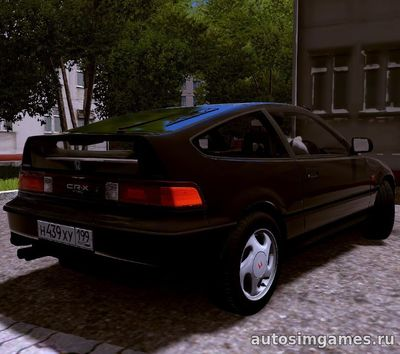 Honda CR-X для City Car Driving 1.5.1
