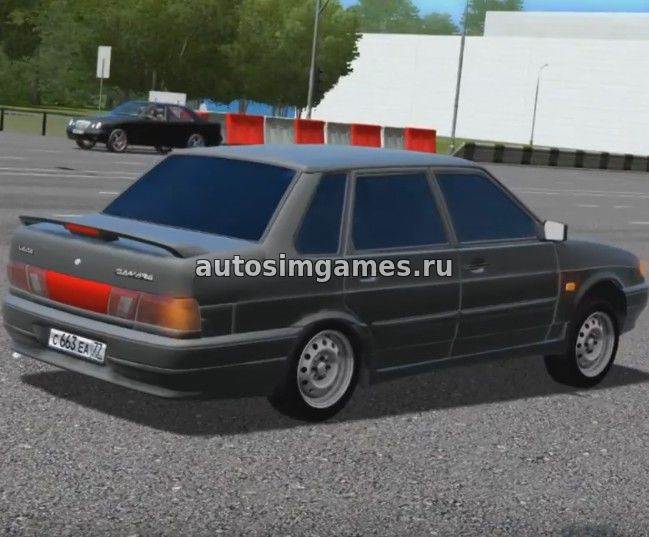 Машина Ваз-2115 для City Car Driving 1.5.1 скачать мод