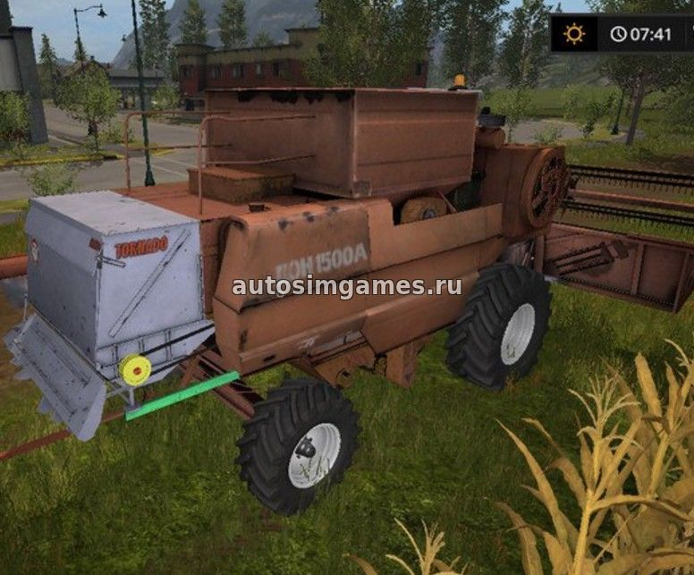 Дон-1500 для Farming Simulator 2017