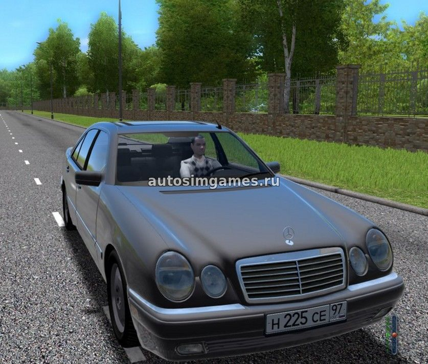 Машина Mercedes-Benz E420 W210 Remake для CCD 1.5.2 скачать мод