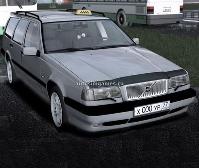 Volvo 850 Estate 1997 для City Car Driving 1.5.2