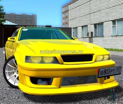 Toyota Chaser JZX100 для City Car Driving 1.5.2