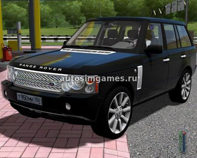 Range Rover Vogue Supercharged 2008 для City Car Driving 1.5.2
