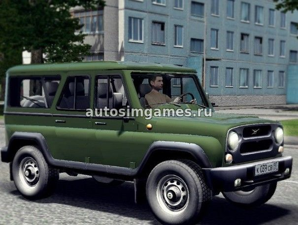 Машина УАЗ-3153 для City Car Driving 1.5.2 скачать мод