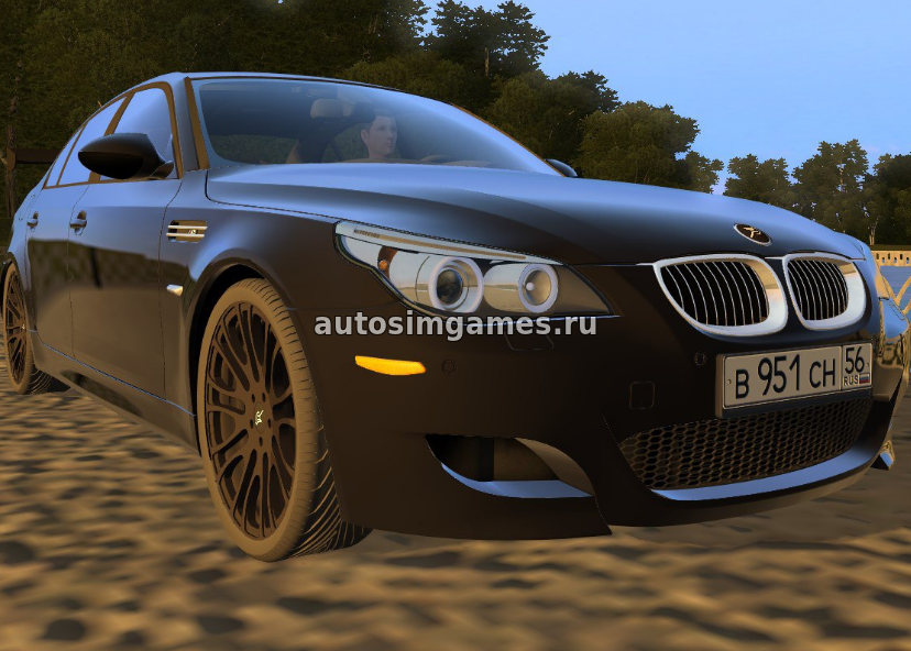 Bmw M5 E60 Tuning для City Car Driving 1 5 2