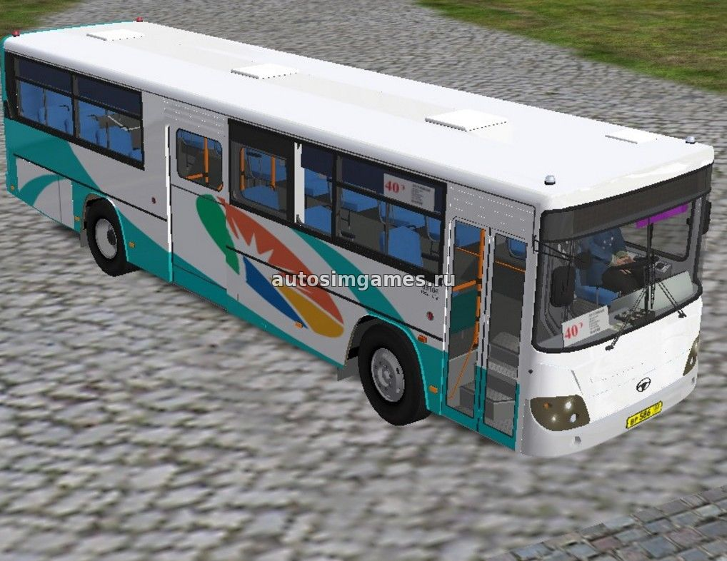 Автобус Daewoo BS106 Royal City 2012 для Omsi 2 скачать мод