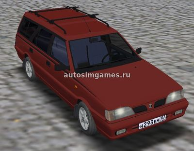 Fso Polonez Combi для Omsi 2