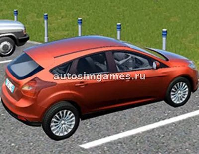 Ford Focus 3 Hatchback для City Car Driving 1.5.2