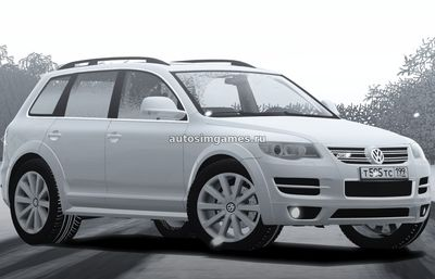 Volkswagen Touareg R50 для City Car Driving 1.5.2