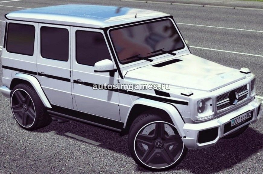 Mercedes Benz G65 AMG Гелик для City Car Driving 1.5.3