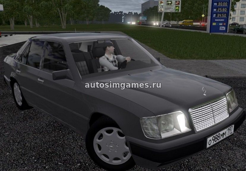 Mercedes-Benz E320 для City Car Driving 1.5.2