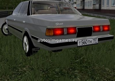 Toyota Mark II GX71 1985 для City Car Driving 1.5.2