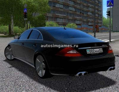 Mercedes-Benz CLS 500 для City Car Driving 1.5.3