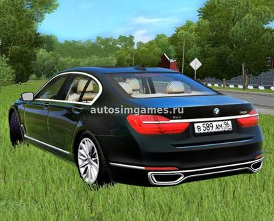 BMW 7 Series для City Car Driving 1.5.3