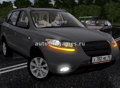Hyundai Santa-Fe для City Car Driving 1.5.2