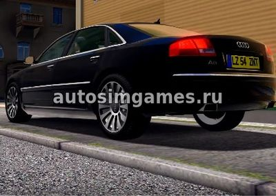 Audi A8 6.0 D3 Quattro для City Car Driving 1.5.2