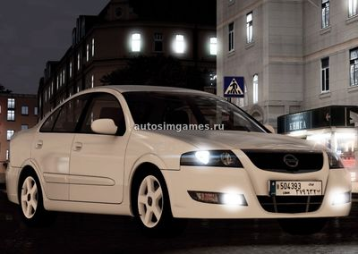 Nissan Almera для City Car Driving 1.5.3