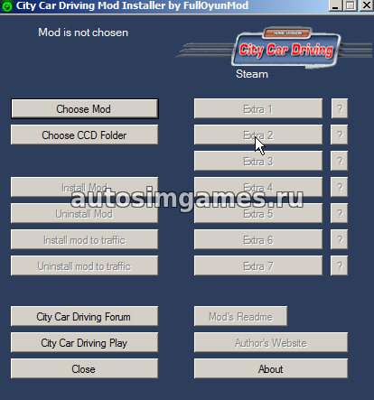 Ccd Mod Installer 1.5.3 от FullOyunMod Steam Версия
