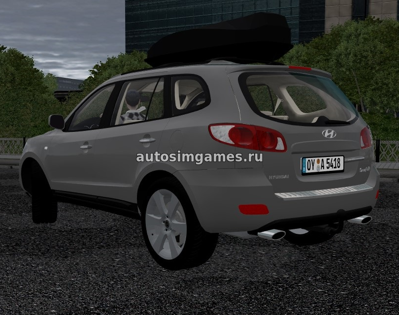 Hyundai Santa-Fe для City Car Driving 1.5.3