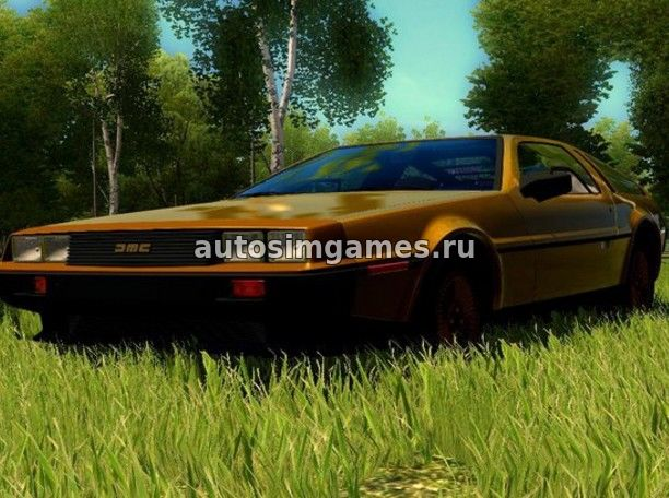 Машина Delorean DMC-12 Gold Plated Edition для CCD 1.5.3 скачать мод
