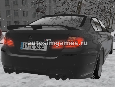 Машина BMW M5 (F10) Hamann для City Car Driving 1.5.3 скачать мод