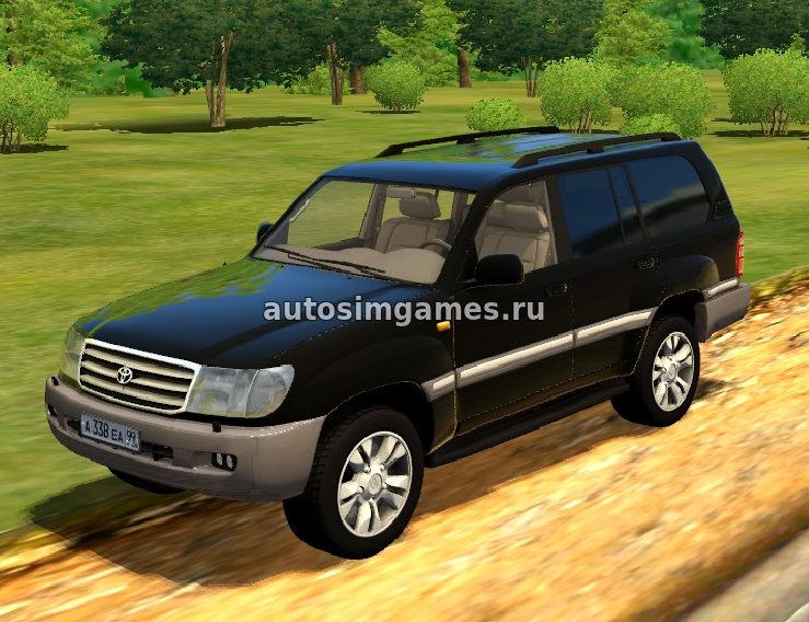 Машина Toyota Land Cruiser 100 для 3d инструктор 2.2.7 скачать мод