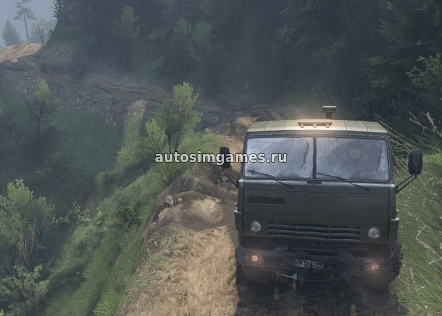 BlackWater Canyons для Spintires 2016 03.03.16