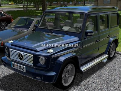 Mercedes Benz G55 AMG Гелик для City Car Driving 1.5.3