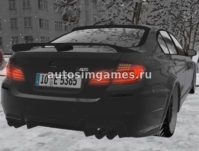 BMW M5 (F10) Hamann для City Car Driving 1.5.3
