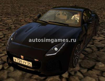 Jaguar F-Type для City Car Driving 1.5.3