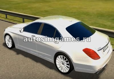 Mercedes-Benz S500 W222 для City Car Driving 1.5.3
