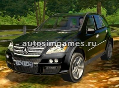 Mercedes-Benz ML63 AMG для 3D Инструктор 2.2.7