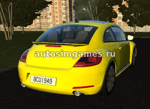 Машина Volkswagen Beetle для City Car Driving 1.5.4 скачать мод