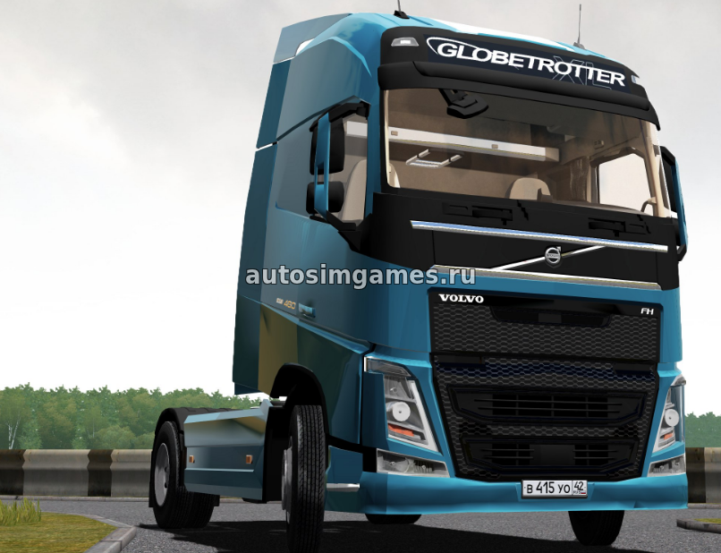 Volvo FH 2014 для City Car Driving 1.5.3