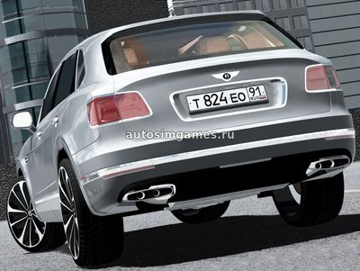 Bentley Bentayga 2016 для City Car Driving 1.5.3