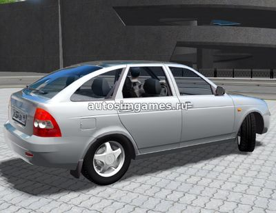 Лада Приора 2172 для City Car Driving 1.5.3
