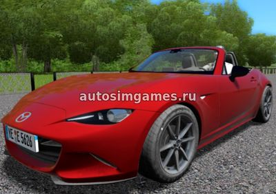 Mazda MX-5 ND Miata для City Car Driving 1.5.3