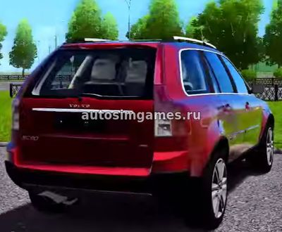 Volvo XC90 2016 для City Car Driving 1.5.3