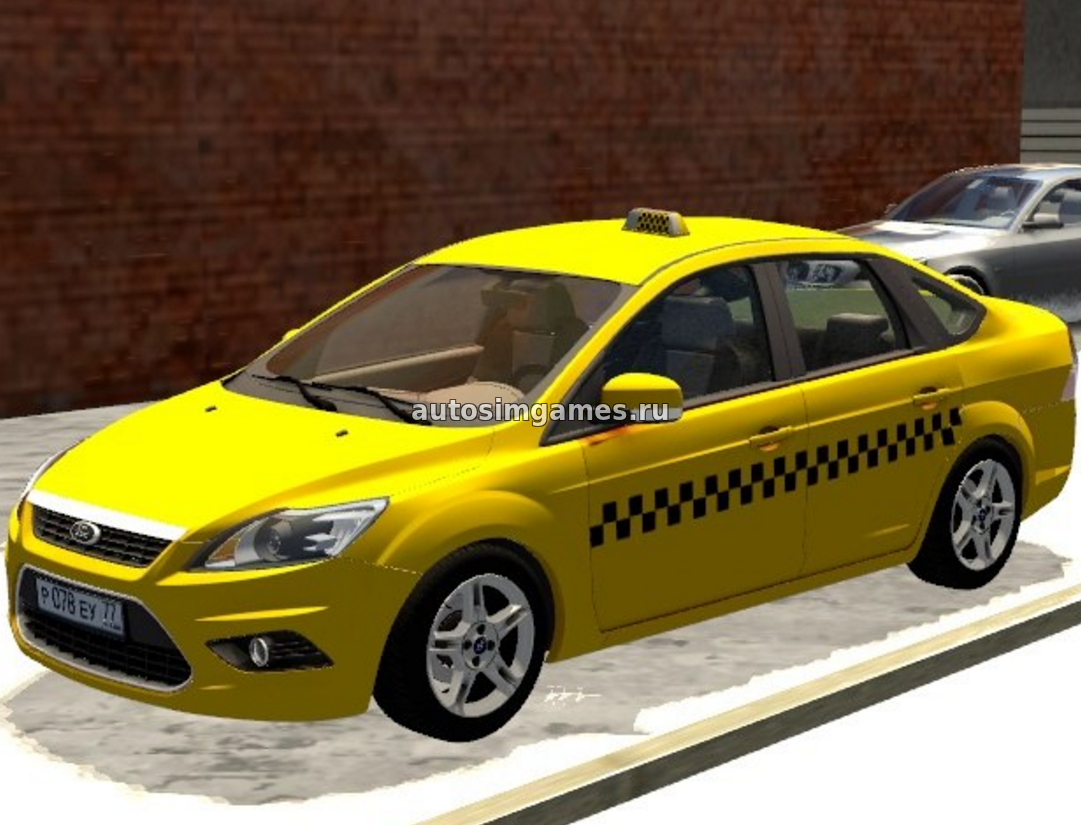 Машина Ford Focus 2 Sedan для 3d Инструктор 2.2.7 скачать мод